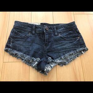 Volcom Cheeky Denim Cutoff Shorts